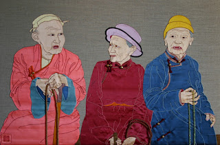 Three Mongolians 2006, by Leslie Rinchen-Wongmo