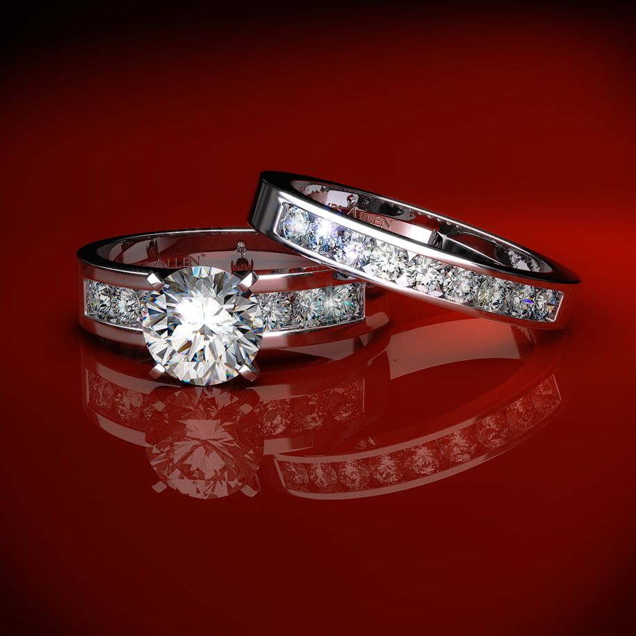 Wedding rings wedding style guide for Wedding rings and bands