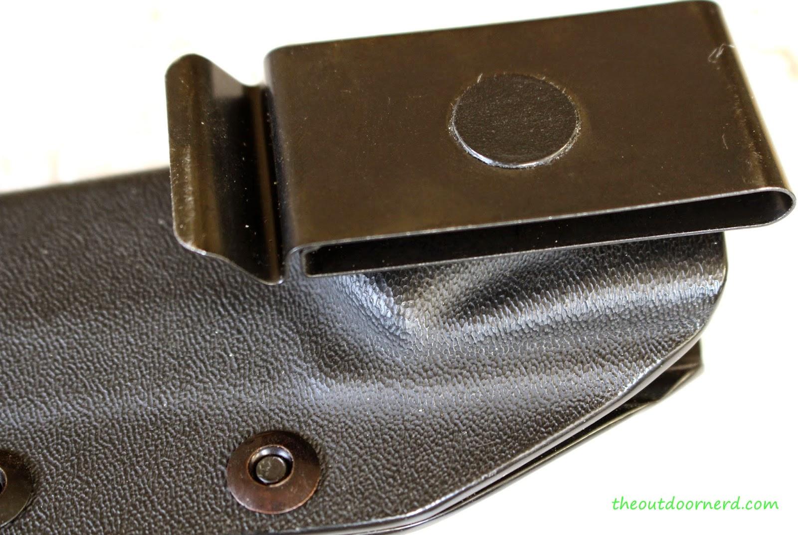 Tops Fieldcraft Fixed Blade Knife: Sheath View 3