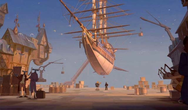 The Legacy in port Treasure Planet 2002 animatedfilmreviews.blogspot.com