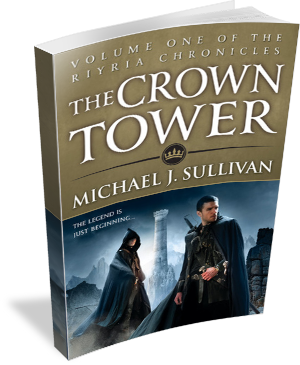 Book Cover The Crown Tower by Michael J Sullivan