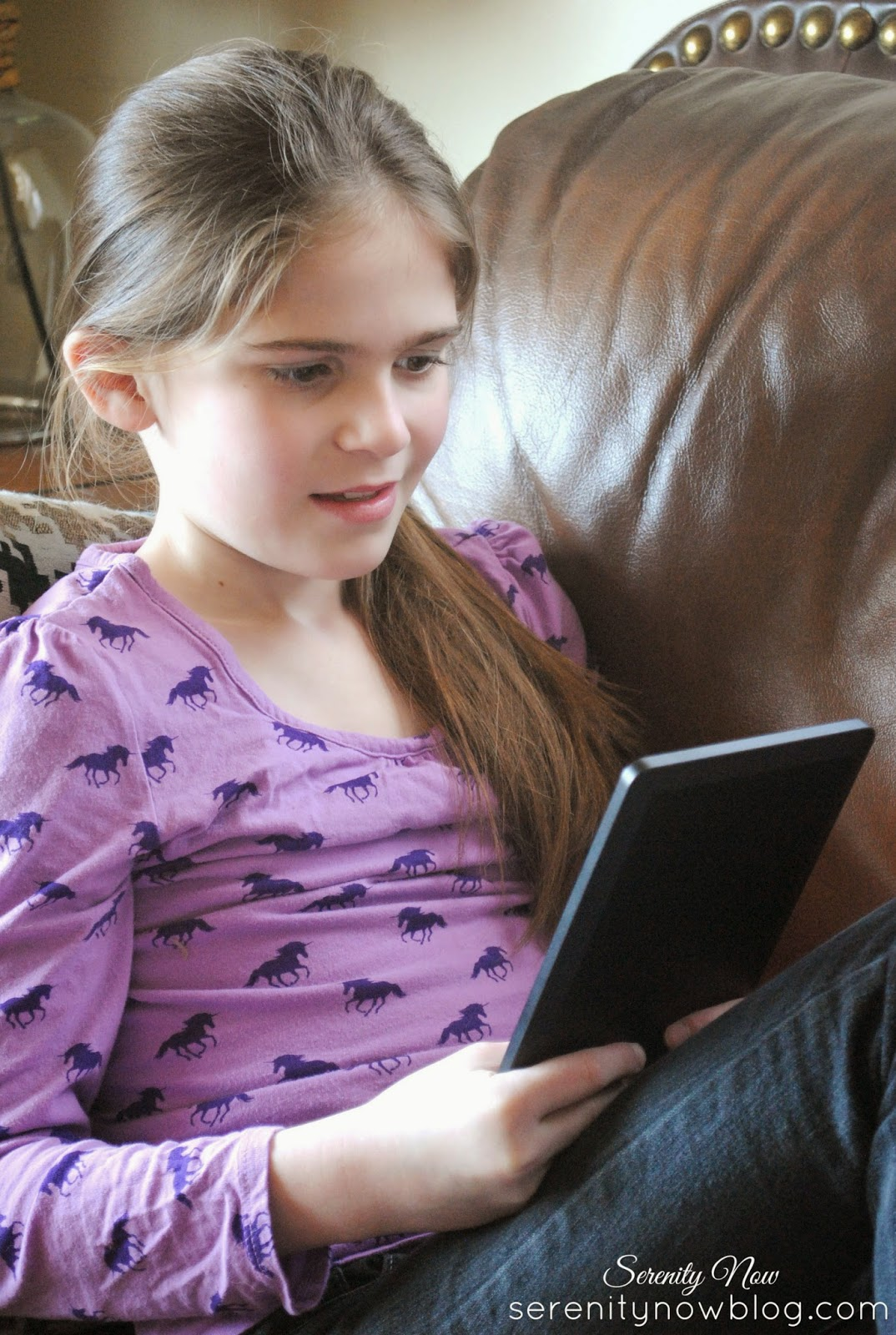 Tips for Encouraging Your Child to Read, from Serenity Now blog