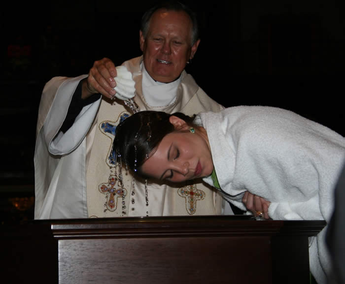 adult+baptism1 ... Catholic Church through Baptism, or receive First Communion as an adult, ...