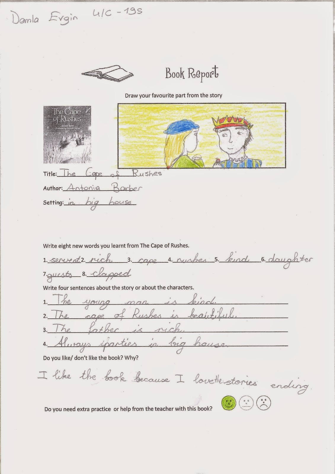 th Grade Book Report Worksheet   how to write a book summary  th