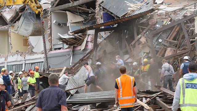 Earthquake Christchurch New Zealand Map. (New Zealand Herald) A 6.3