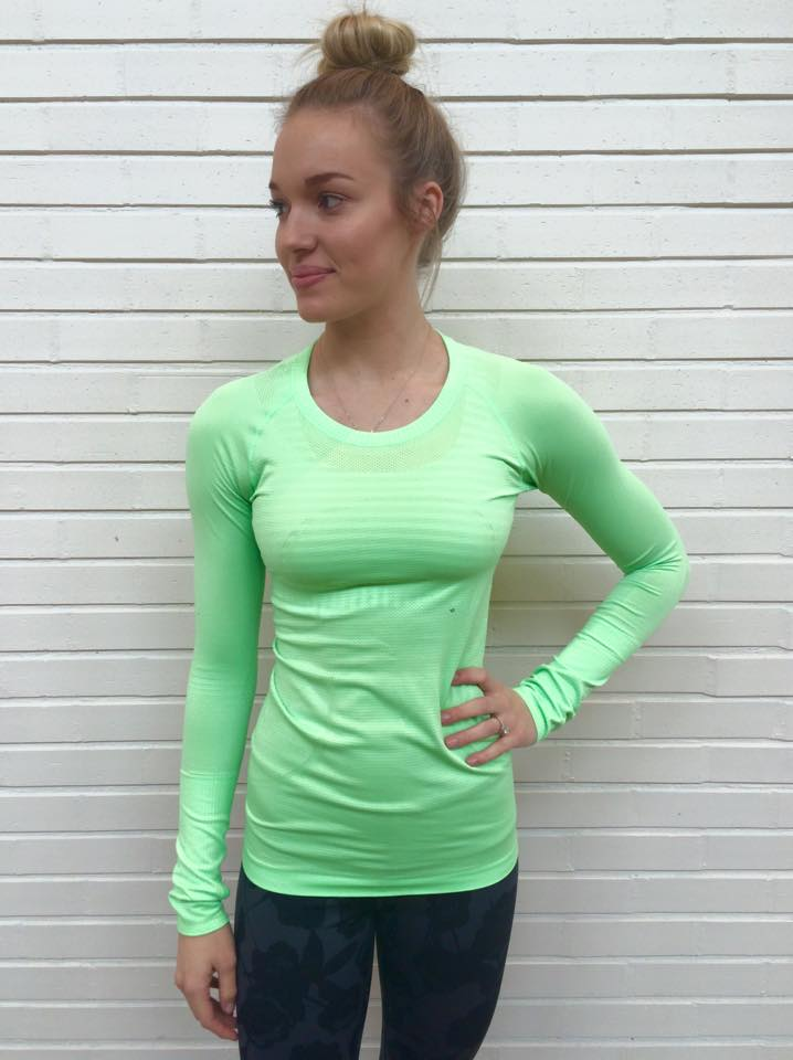 lululemon scream green swiftly ls