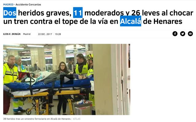 """""""Accidentes"""" de trenes en la línea Alcázar-Ciudadela (VIDEO)"""