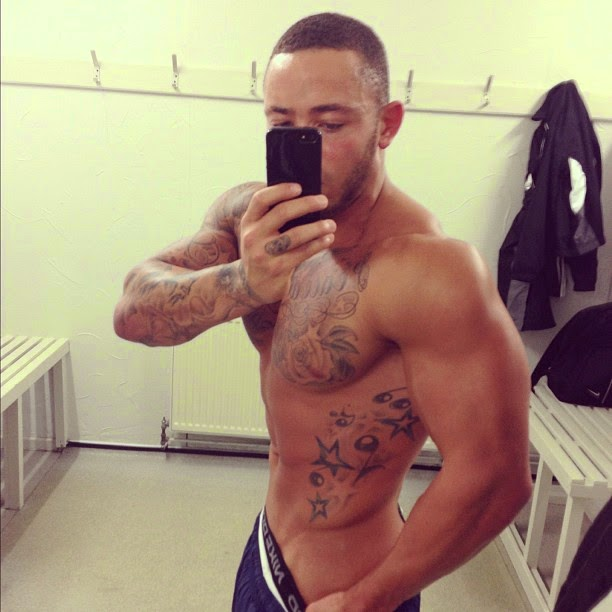 Ashley Cain underwear