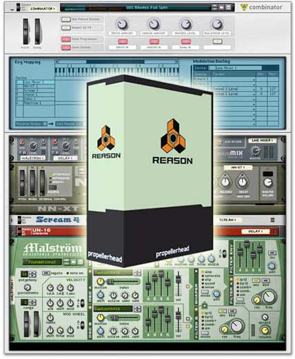 Propellershead Reason 5 for Windows and Mac