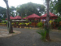 red Cottages in Balay Inato Pension in Palawan