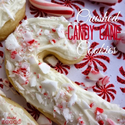 Crushed Candy Cane Cookies