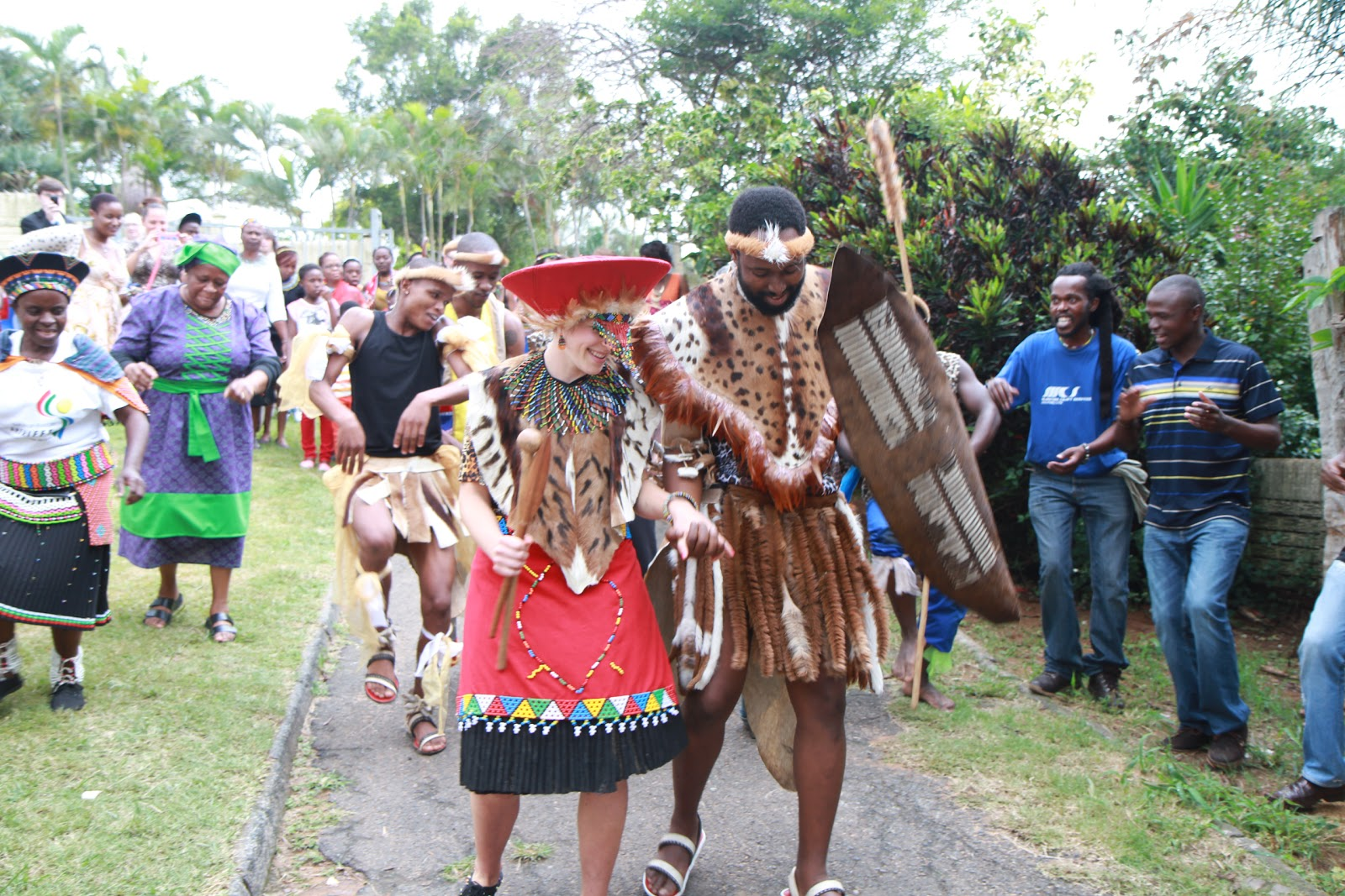 Elaine s WorldZulu Culture Marriage