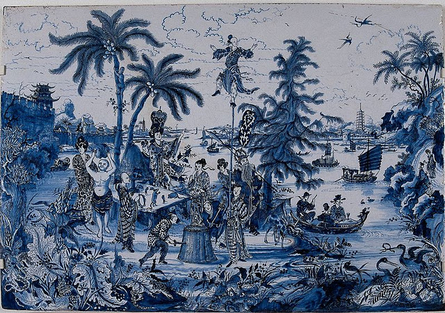 chinoiserie chic blue and - photo #11