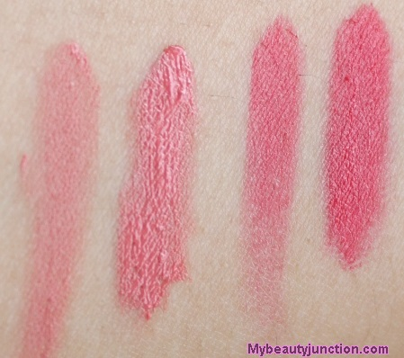 Etude House Rosy Tint Lips swatches, review