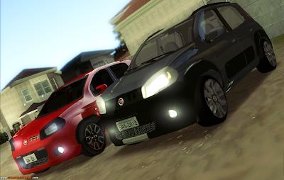 Fiat Uno Way e Fiat Uno Sporting Para GTA San Andreas