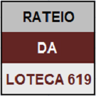 LOTECA 619 - MINI RATEIO