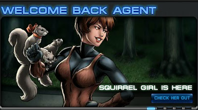 Squirrel Girl now at Marvel: Avengers Alliance
