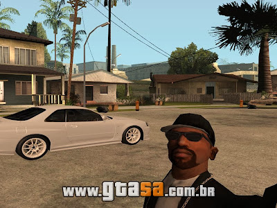 Mod Auto Retrato do GTA 5 para GTA San Andreas
