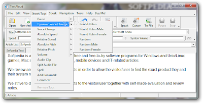 Windows Text to Voice Converter Software | TextAloud