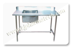 Biotech Lab Furniture, Steel  Fabrication,   Pharmaceutical  powder container , Stainless Steel  ,   Fabrication, Pharma  and Chemical  storage Tank