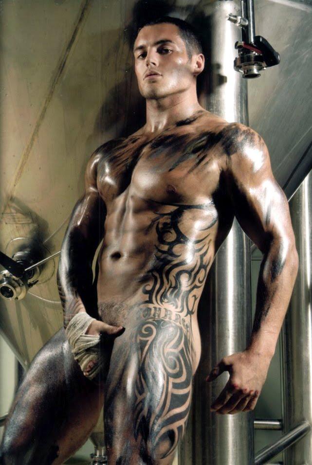 Naked Sexy Tattoo Men