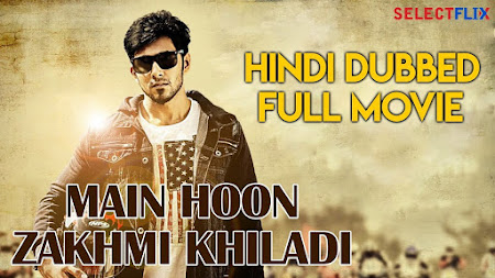 Poster Of Main Hoon Zakhmi Khiladi In Hindi Dubbed 300MB Compressed Small Size Pc Movie Free Download Only At rplc313.com