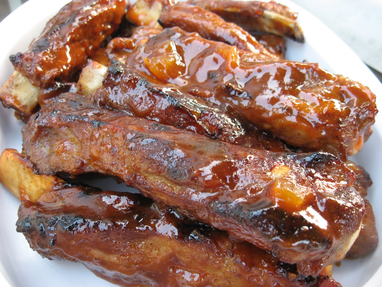 barbecue spare ribs honey barbecued spareribs bbq spare ribs barbecue