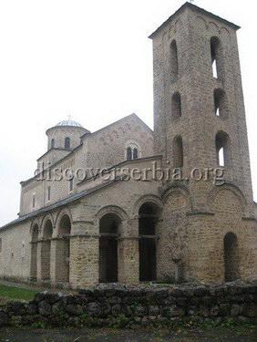 image of sopocani monastery