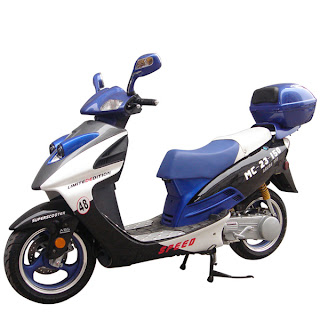 roketa reliable scooter good 125cc moped