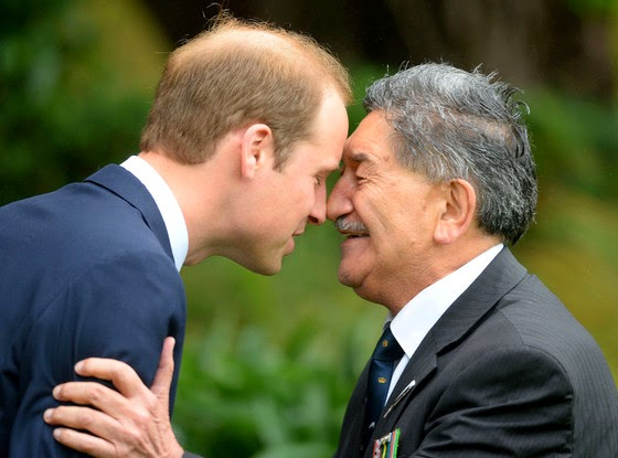 Prince William and Princess Catherine Receive Official Maori Welcome on First Day of New Zealand Trip