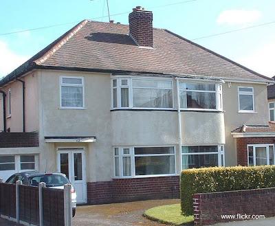 Dos viviendas familiares adosadas de los años 30 diseño moderno, en Reino Unido