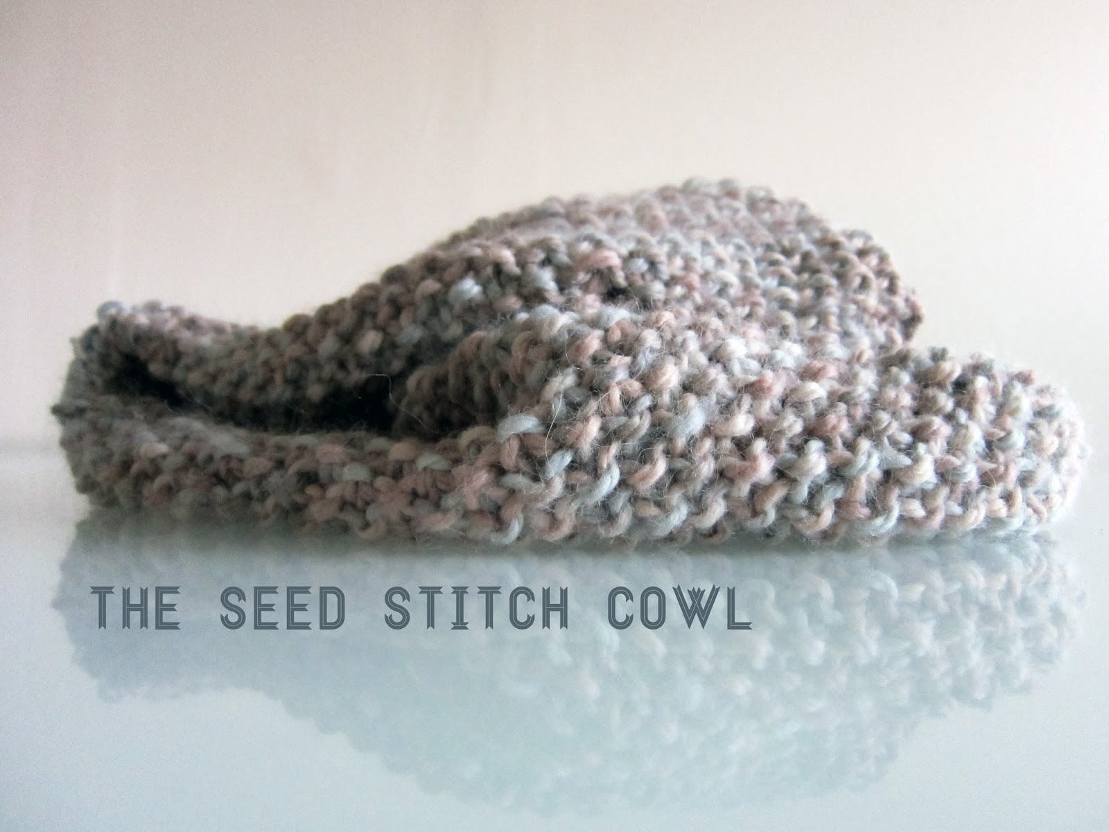 on my honor...: Peanut and Purls and Seed Stitched Cowls