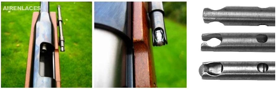 dispensadores tubulares de balines para rifles de aire