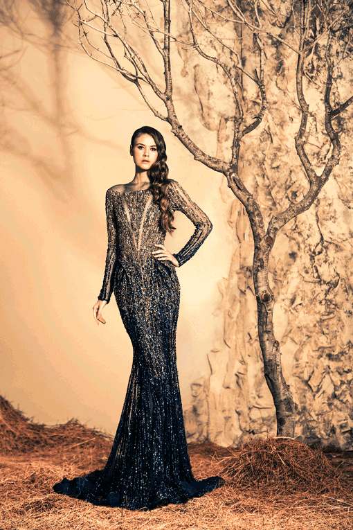 Vestidos de Noche por Ziad Nakad