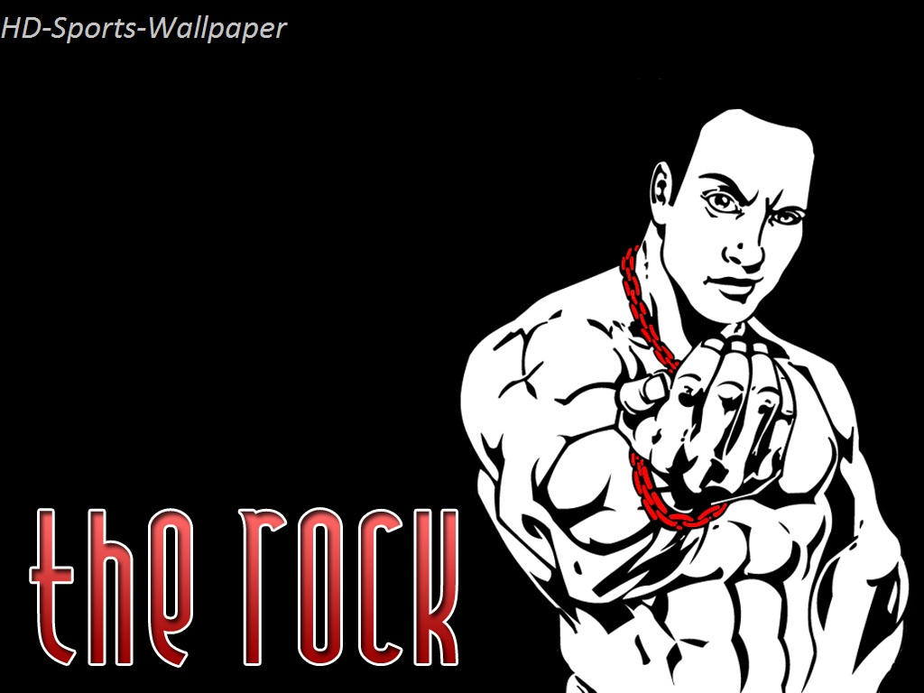 HD Sports Wallpaper The Rock