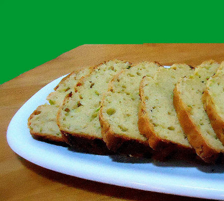 One Perfect Bite: Savory Parmesan and Zucchini Bread