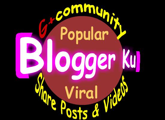 Blogger Ku Community