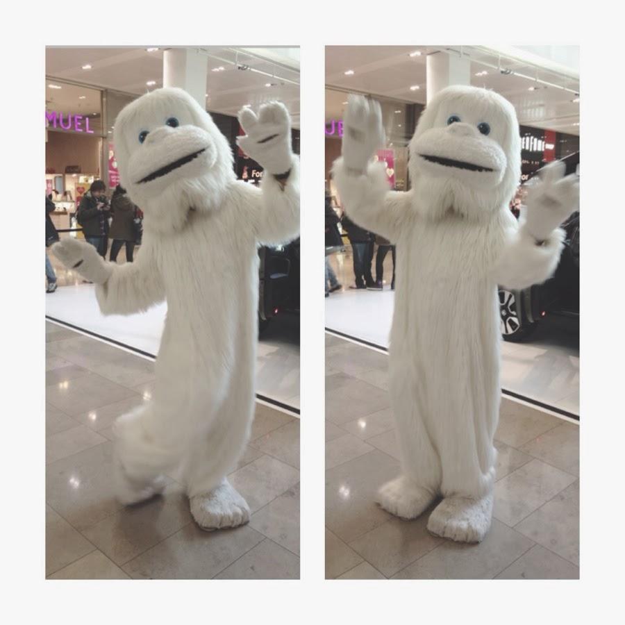 Stratford Westfield Human Sized White Teddy Bear