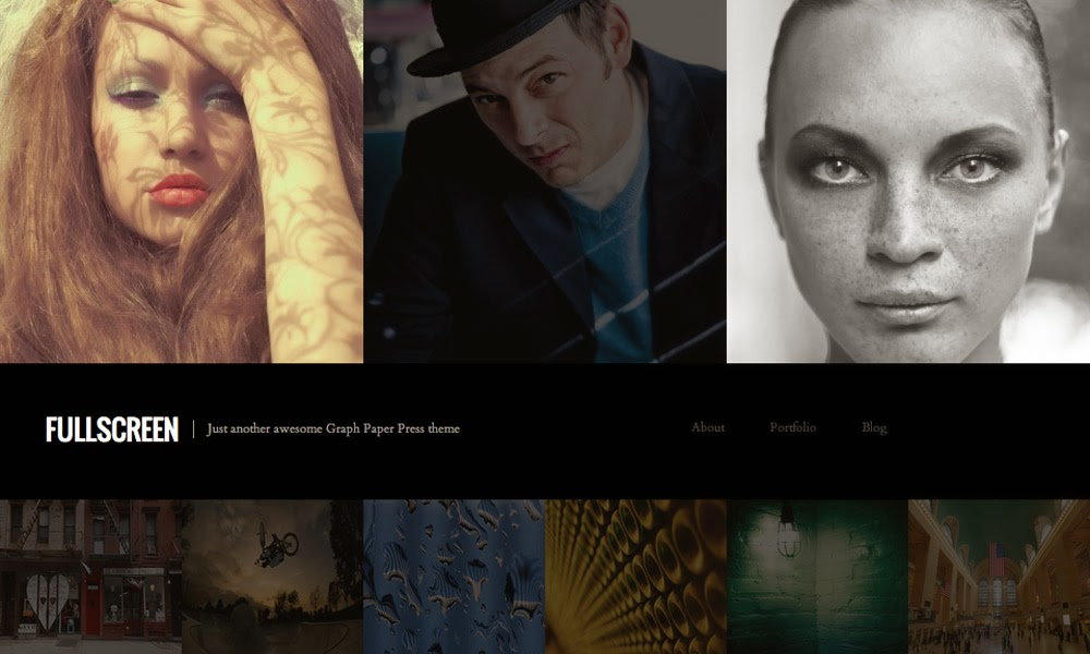 Download Fullscreen - Free Responsive Wordpress Portfolio Themes 2015