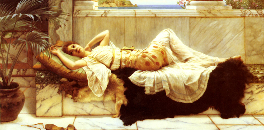 john william godward painting