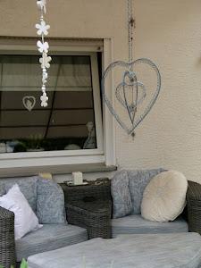 Da geniesse ich meine Terrasse...
