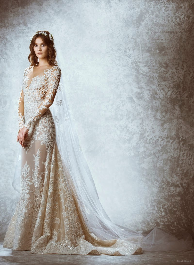 Zuhair murad fall 2015 bridal stylemayvin for Zuhair murad wedding dress