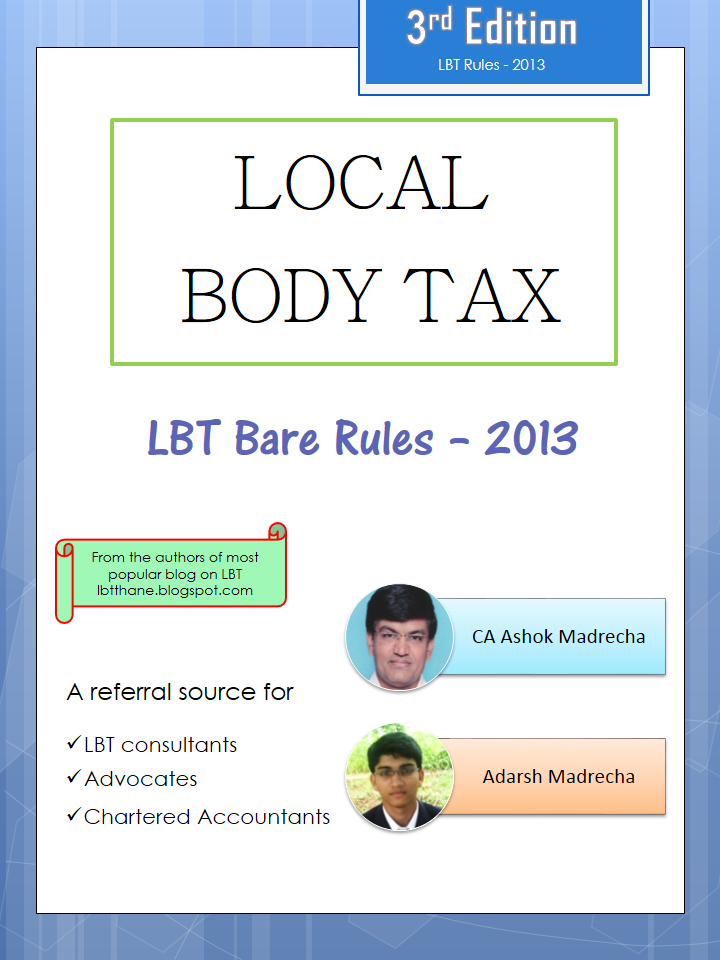 LBT Bare Rules 2013 Cover Page