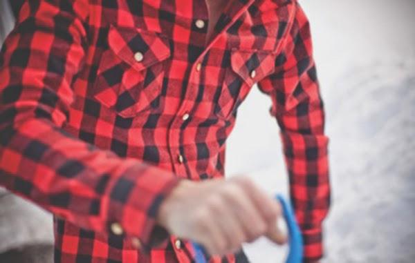 Macho Moda - Blog de Moda Masculina  Camisa Xadrez Masculina em alta ... a21c7fafe29ec