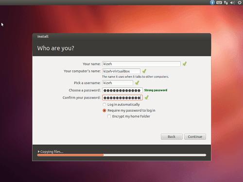 Cara menginstall linux ubuntu 12.04 desktop