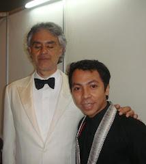ME and SIGNOR BOCELLI