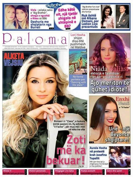 Revista PALOMA - 22 Shkurt 2014