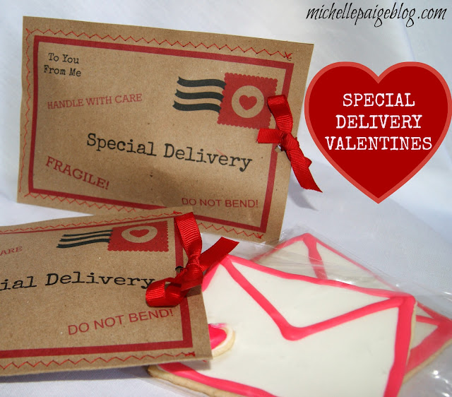 Love Letter Cookies and Parcel