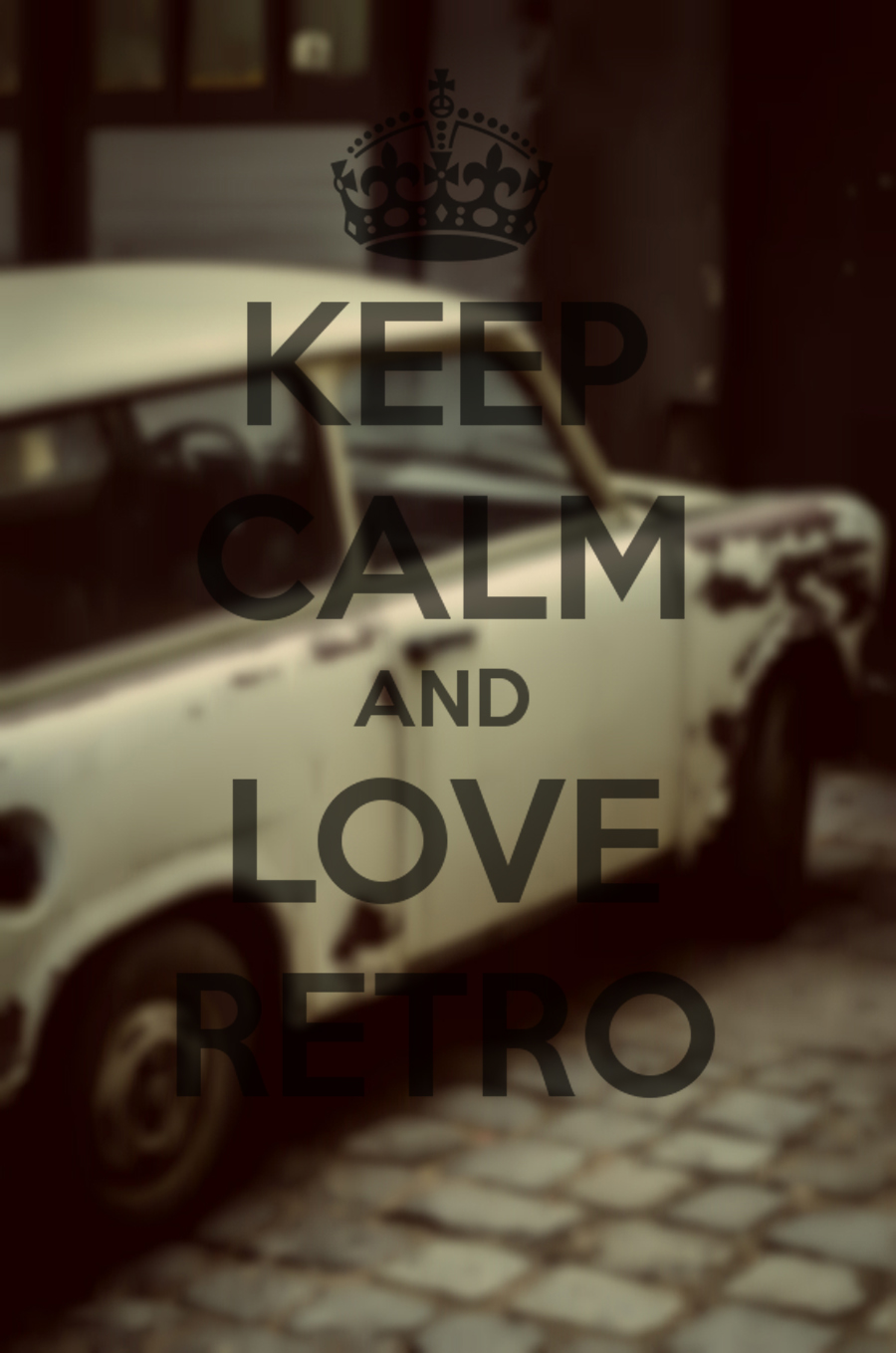 keep calm and love retro letthemwear