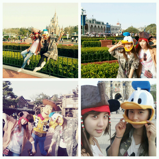 [TRANS + imagen] [FROM. Seohyun] ^ ^ ♥ 130421+seohyun+yuri